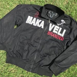 Other - Vintage Makaveli Branded 2pac Zip Up Jacket